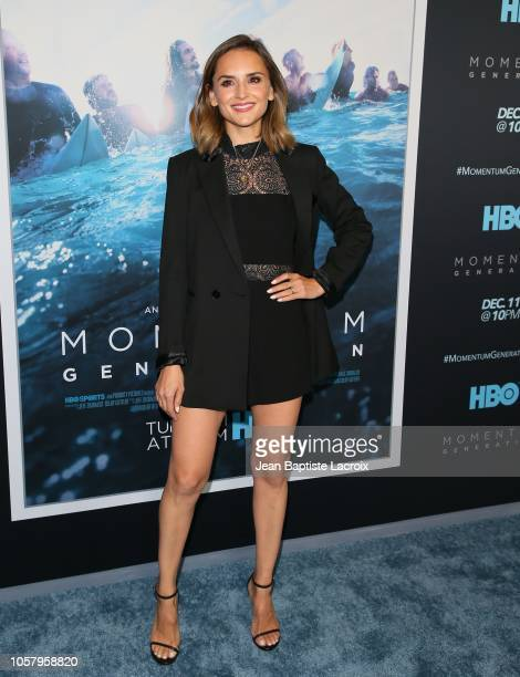 Rachael Leigh Cook attends HBO's 'Momentum Generation' premiere held at The Broad Stage on November 05 2018 in Santa Monica California