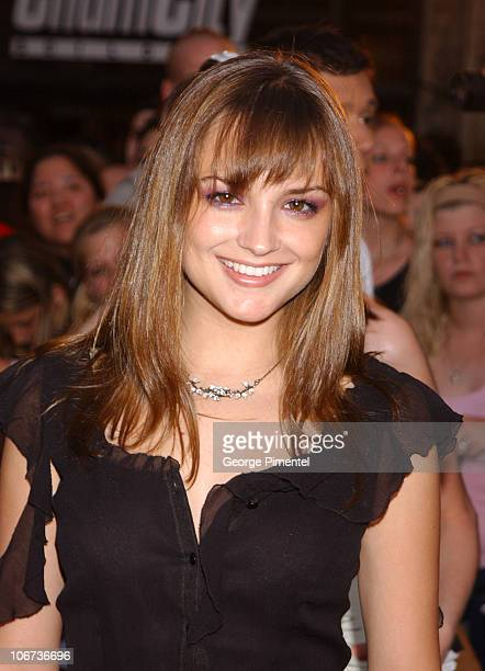Rachael Leigh Cook during 2003 Much Music Video Awards in Toronto Ontario Canada