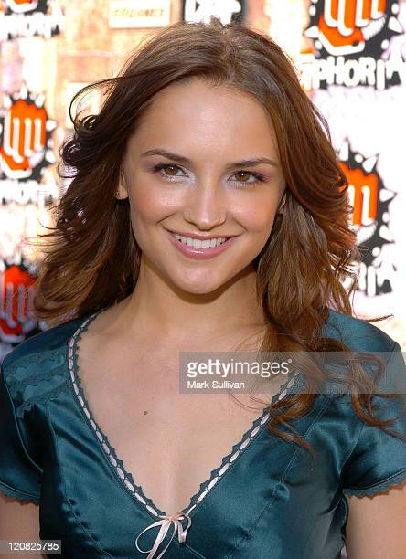 Rachael Leigh Cook during 2005 GPhoria Videogame Awards Arrivals at Los Angeles Center Studios in Los Angeles California United States