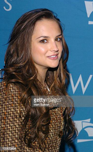 Rachael Leigh Cook during A Night At The Copa At The Hollywood Bowl Arrivals at Hollywood Bowl in Los Angeles California United States