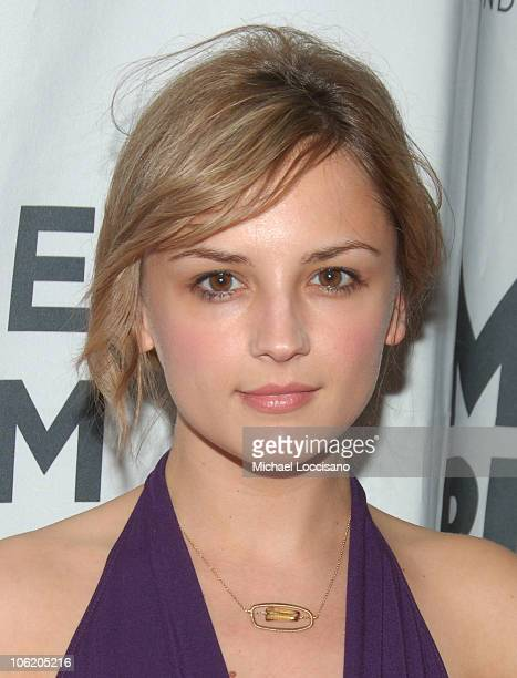 Rachael Leigh Cook during The Montblanc De La Culture Awards at Angel Orensanz Foundation Center for the Arts in New York City New York United States