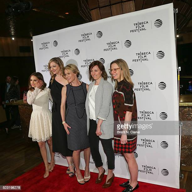 Rachael Leigh Cook Judy Greer Mary Stewart Masterson Rachel Tunnard and Margaret Coady attend the 2016 Tribeca Film Festival Awards held at 42West on...