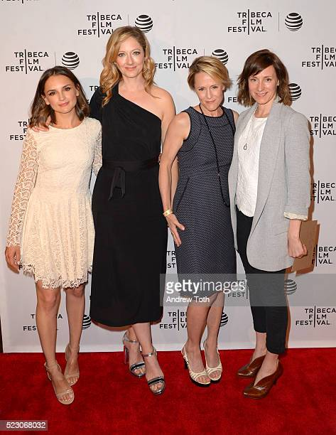 Rachael Leigh Cook Judy Greer Mary Stuart Masterson and Rachel Tunnard attend the 2016 Tribeca Film Festival Awards Night on April 22 2016 in New...