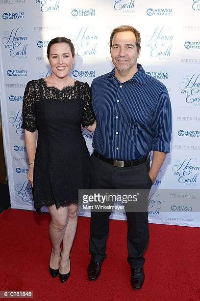 Rachael MacFarlane and Spencer Laudiero attend the Heaven On Earth Gala The Perry MacFarlane Legacy honoring 20th Century Fox TV Animation Amanda...