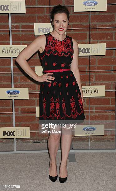 Rachael MacFarlane arrives at the FOX Fall Eco-Casino Party at The Bookbindery on September 10, 2012 in Culver City, California.