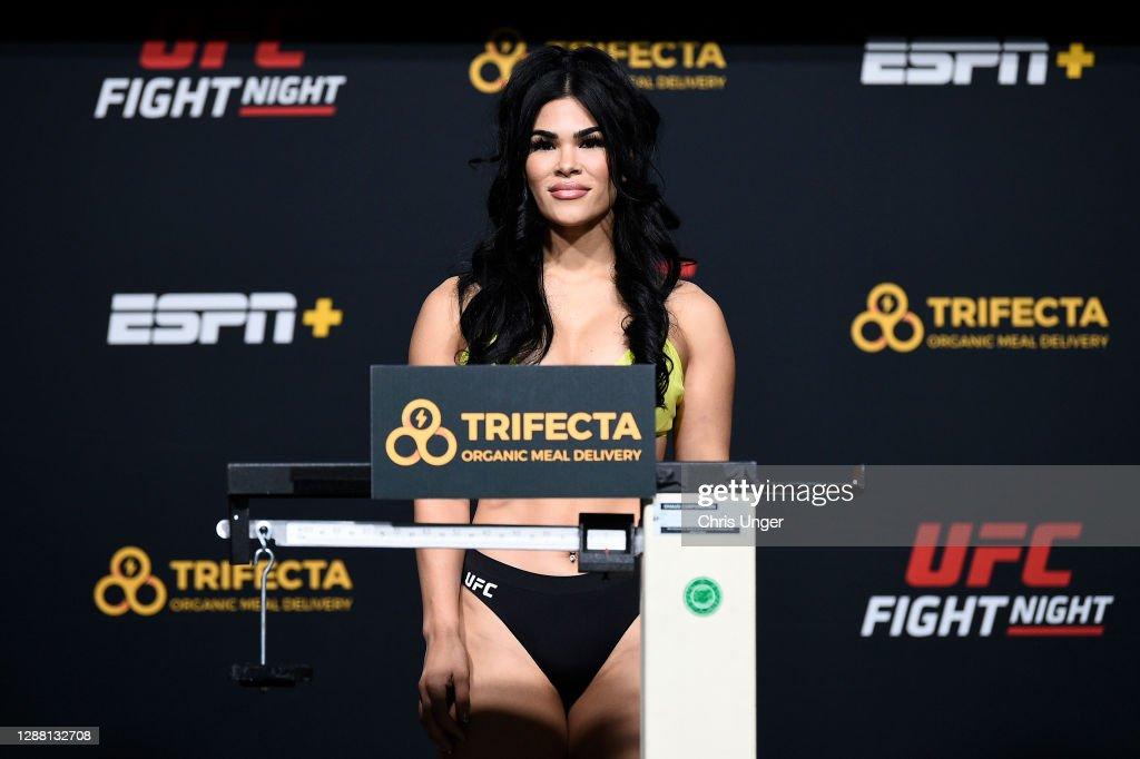UFC Fight Night Blaydes v Lewis:  Weigh-Ins : News Photo
