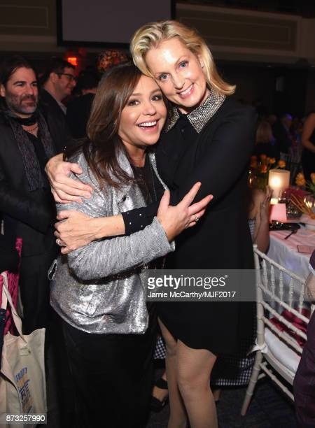 Rachael Ray and Ali Wentworth attend A Funny Thing Happened On The Way To Cure Parkinson's at the Hilton New York on November 11 2017 in New York City