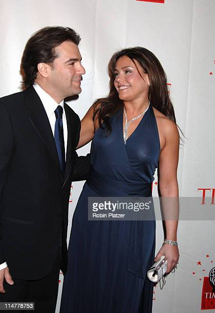 Rachael Ray and husband John Cusimano during Time Magazine's 100 Most Influential People 2006 Inside Arrivals at Jazz at Lincoln Center in New York...
