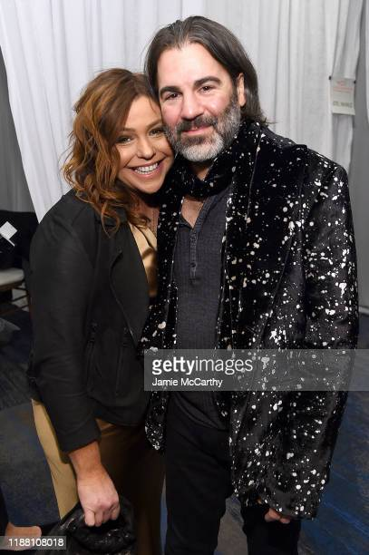 Rachael Ray and John Cusimano attend A Funny Thing Happened On The Way To Cure Parkinson's benefitting The Michael J Fox Foundation on November 16...