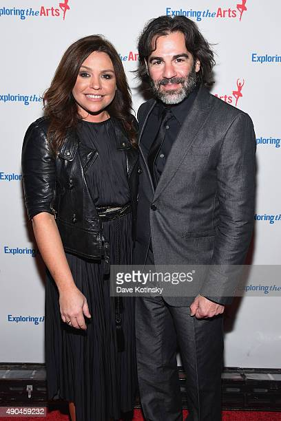 Rachael Ray and John Cusimano attend the 9th Annual Exploring The Arts Gala founded by Tony Bennett and his wife Susan Benedetto at Cipriani 42nd...