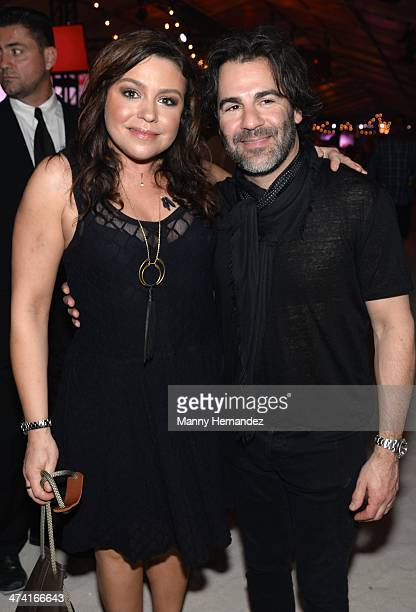 Rachael Ray and John Cusimano attends Amstel Light Burger Bash Presented By Pat LaFrieda Meats Hosted By Rachael Ray Food Network South Beach Wine...