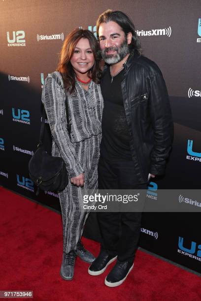 Rachael Ray and John M. Cusimano attend SiriusXM's private concert with U2 at The Apollo Theater as the band takes a one night detour from the...