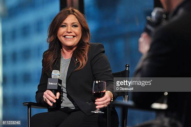 Rachael Ray attends AOL Build Speaker Series - Rachael Ray at AOL Studios In New York on February 18, 2016 in New York City.