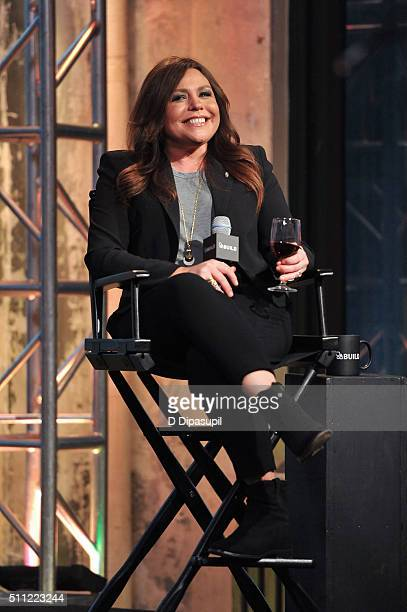 Rachael Ray attends AOL Build Speaker Series Rachael Ray at AOL Studios In New York on February 18 2016 in New York City