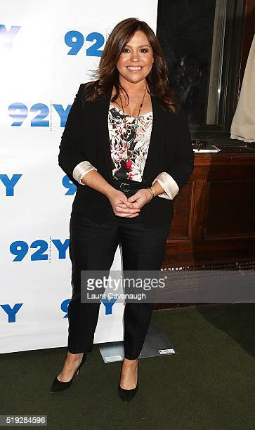 Rachael Ray attends Cameron Diaz in Conversation with Rachael Ray at 92nd Street Y on April 5, 2016 in New York City.
