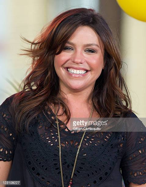"Rachael Ray attends the Great Philly Grill-Off during the ""Rachael Ray Show"" at Pat's King of Steaks on August 30, 2011 in Philadelphia, Pennsylvania."