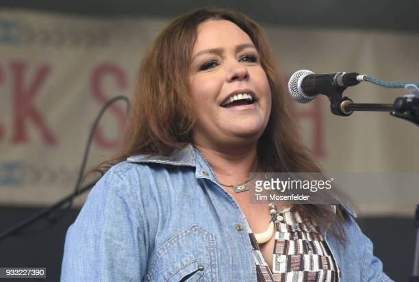 Rachael Ray attends the Rachael Ray's Feedback party at Stubb's Bar B Que during the South By Southwest conference and festivals on March 17 2018 in...