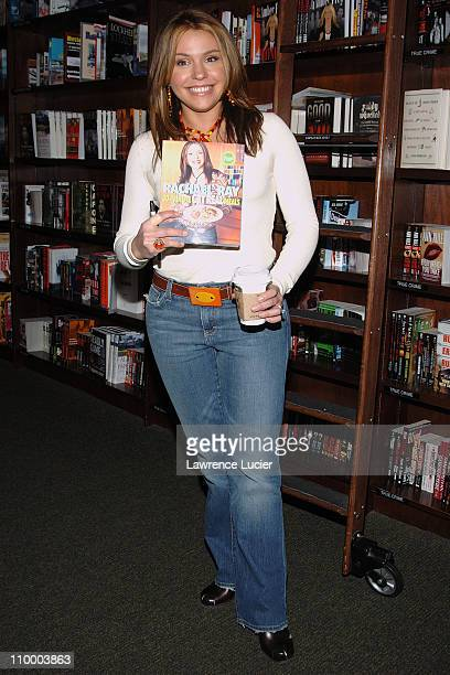Rachael Ray during Rachael Ray Signs Her Book 30 Minute Get Real Meals at Barnes & Noble in New York City - March 31, 2005 at Barnes & Noble - Union...