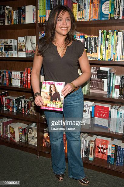 Rachael Ray during Rachael Ray Signs Her New Book Express Lane Meals at Barnes Noble Union Square May 5 2006 at Barnes Noble Union Square in New York...