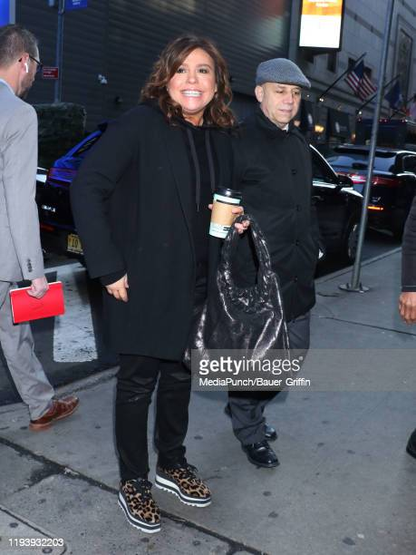 Rachael Ray is seen on January 15, 2020 in New York City.
