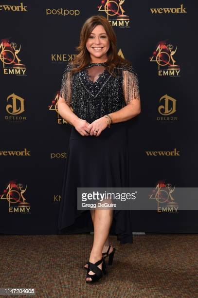 Rachael Ray poses in the press room during the 46th annual Daytime Emmy Awards at Pasadena Civic Center on May 05 2019 in Pasadena California