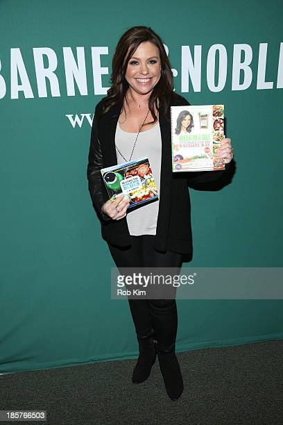 Rachael Ray promotes her new cookbook 'Week In A Day' at Barnes Noble Union Square on October 24 2013 in New York City