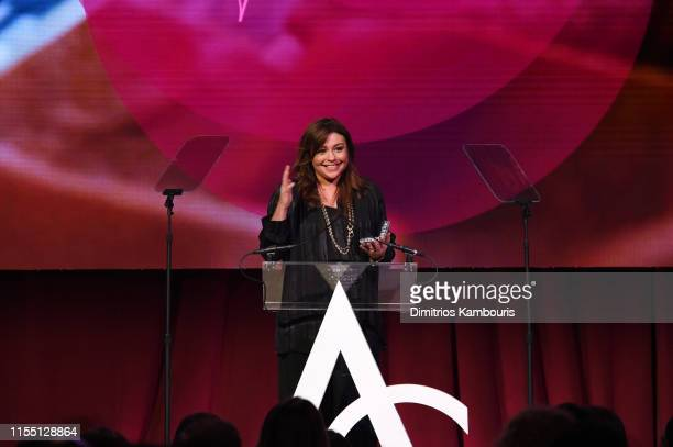 Rachael Ray speaks onstage as the Accessories Council Hosts The 23rd Annual ACE Awards on June 10, 2019 in New York City.