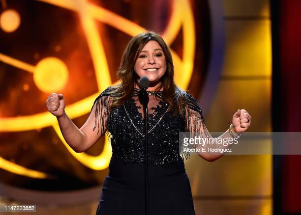 Rachael Ray speaks onstage at the 46th annual Daytime Emmy Awards at Pasadena Civic Center on May 05, 2019 in Pasadena, California.
