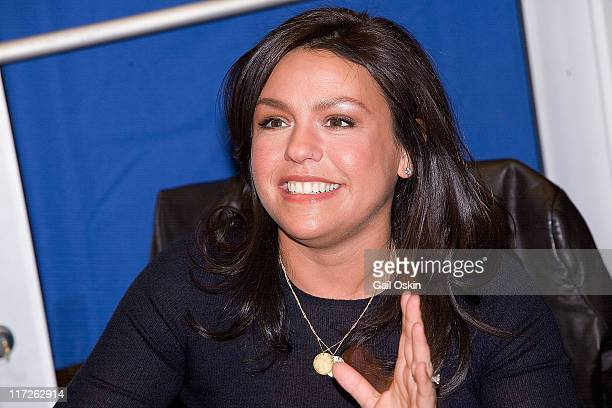 Rachael Ray speaks to fans during a book signing during the ''Just In Time'' 2007 Book Tour at the Prudential Center Barnes & Noble on November 17,...