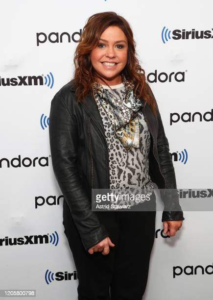 Rachael Ray visits the SiriusXM Studios on February 12, 2020 in New York City.