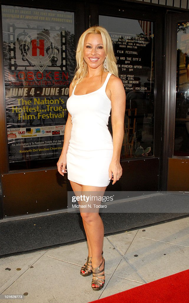 Rachael Robbins attends the premiere of 'An Affirmative Act' at Cedar Lane Cinemas on June 4, 2010 in Teaneck, New Jersey.