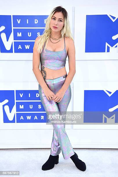Rachael 'Steak' Finley attends the 2016 MTV Video Music Awards at Madison Square Garden on August 28 2016 in New York City