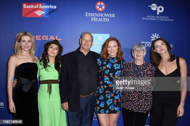 Rachael Taylor Allanah Zitserman Bruce Beresford Alison McGirr Sue Milliken and Celia Massingham attend the Closing Night Screening of 'Ladies In...