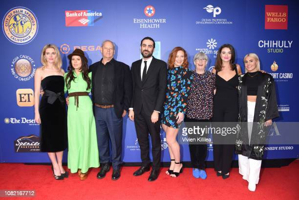 Rachael Taylor Allanah Zitserman Bruce Beresford artistic director of the Palm Springs International Film Festival Michael Lerman Alison McGirr Sue...