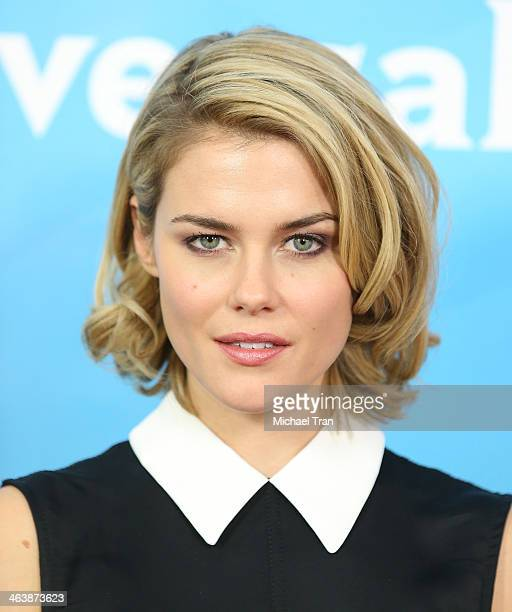Rachael Taylor arrives at the NBC/Universal 2014 TCA Winter press tour held at The Langham Huntington Hotel and Spa on January 19 2014 in Pasadena...