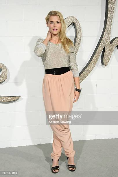 Rachael Taylor arrives for the Chloe Los Angeles LA Boutique Opening Party at Milk Studio on 23 April 2009 in Los Angeles California