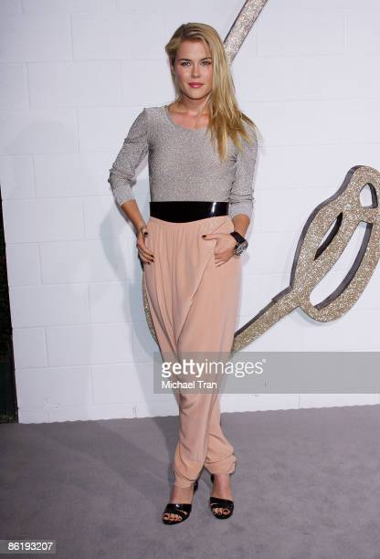 Rachael Taylor arrives to Chloe Los Angeles Boutique Opening Party held at Milk Studios on April 23 2009 in Los Angeles California