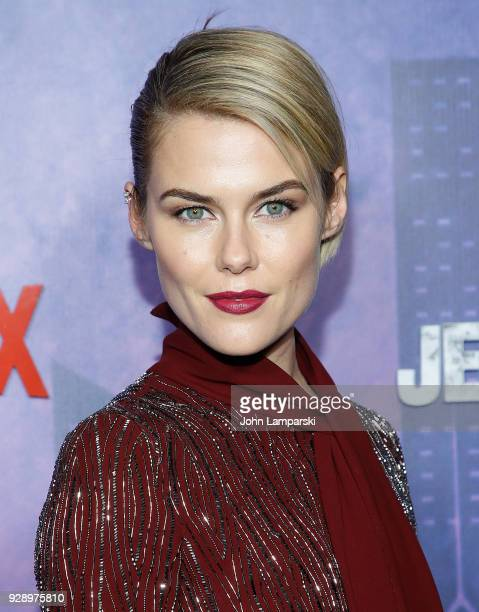 Rachael Taylor attends 'Jessica Jones' season 2 New York Premiere at AMC Loews Lincoln Square on March 7 2018 in New York City