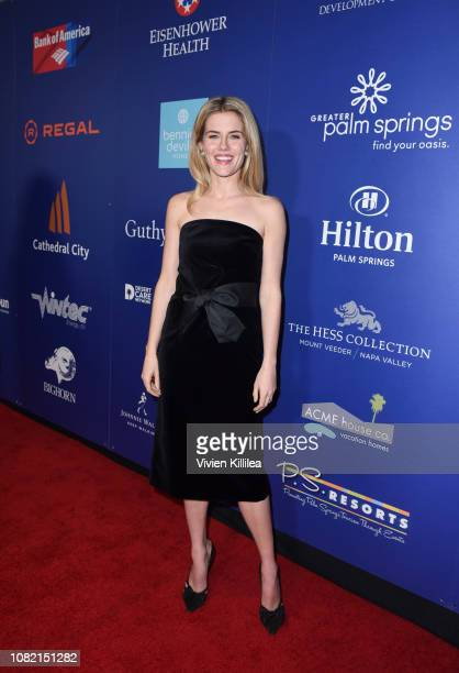 Rachael Taylor attends the Closing Night Screening of 'Ladies In Black' at the 30th Annual Palm Springs International Film Festival on January 13...