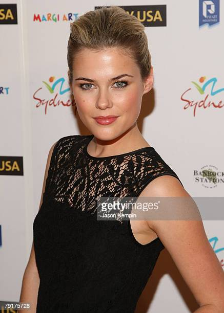 Rachael Taylor attends the G'Day USA Australia Week 2008 at Jazz at Lincoln Center on January 22 2008 in New York City