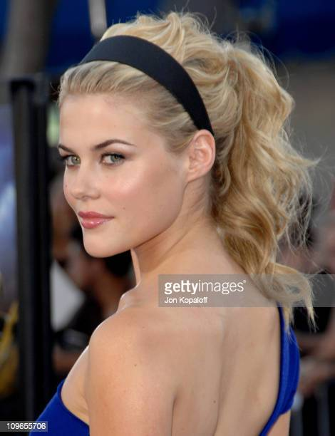 Rachael Taylor during 'Transformers' Los Angeles Premiere Arrivals at Mann Village Theater in Westwood California United States