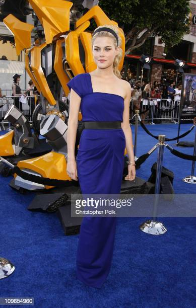 """Rachael Taylor during """"Transformers"""" Los Anglese Premiere - Arrivals and After Party at Mann Village Theatre in Westwood, California, United States."""