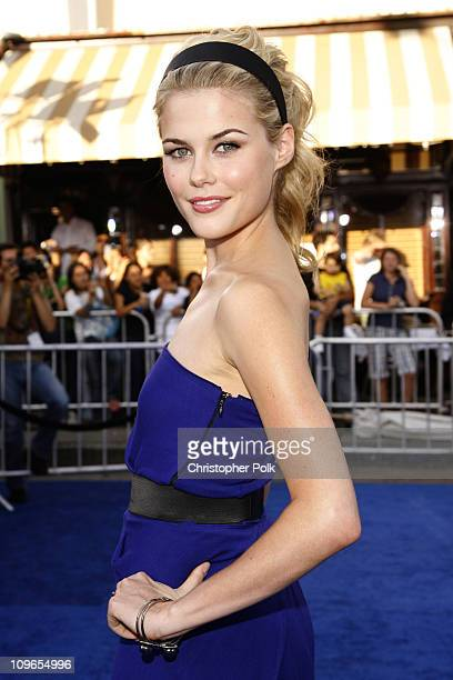 Rachael Taylor during 'Transformers' Los Anglese Premiere Arrivals and After Party at Mann Village Theatre in Westwood California United States