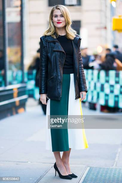 Rachael Taylor is seen in NoHo on March 6 2018 in New York City