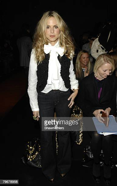 Rachael Zoe attends Donna Karan Fall 2008 during Mercedes-Benz Fashion Week at 711 Greenwich Street on February 08, 2008 in New York City.