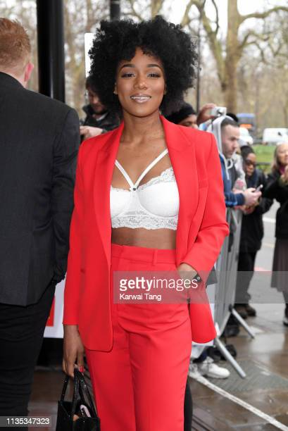 Rachel Adedeji attends the 2019 'TRIC Awards' held at The Grosvenor House Hotel on March 12, 2019 in London, England.