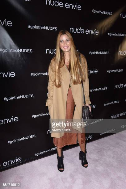 Rachel Anise Wegter attends Nude Envie Holiday/Launch Party Launching New Shades on December 2 2017 in Beverly Hills California