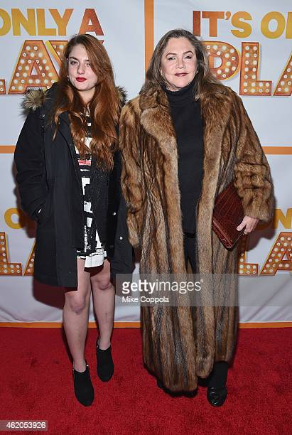 Rachel Ann Weiss and actress Kathleen Turner attend It's Only A Play Broadway ReOpening Night at The Bernard B Jacobs Theatre on January 23 2015 in...