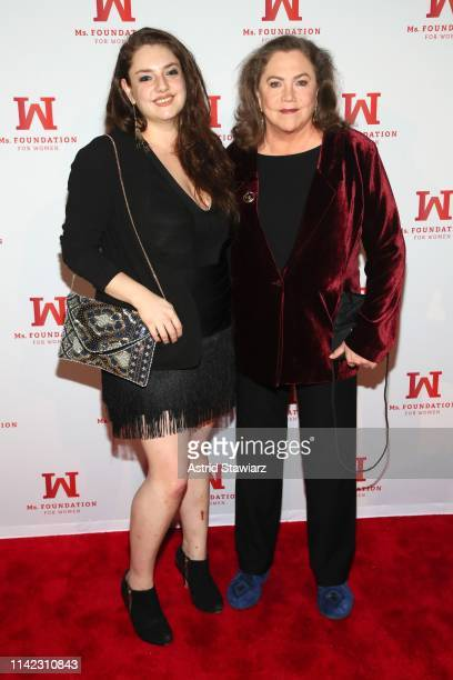 Rachel Ann Weiss and Kathleen Turner attend the Ms Foundation For Women's Annual Gloria Awards at Capitale on May 08 2019 in New York City