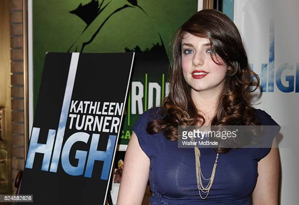 Rachel Ann Weiss attending the Broadway Opening Night Performance Arrivals of 'High' in New York City